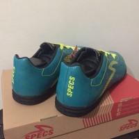 SALE Sepatu Futsal Specs Quark IN Tosca Solar Slime 400758 Original