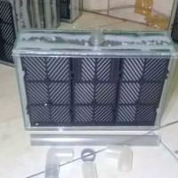 filter aquarium tanpa kuras ukuran besar tanpa pompa