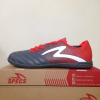 Sepatu Futsal Specs Equinox IN Dark Granite Red