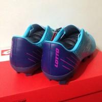 Sepatu Bola Lotto Blade FG Scuba Blue L
