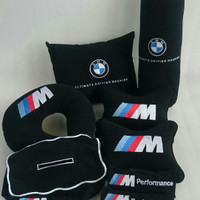 Bantal mobil BMW aksesoris interior bantal mobil headrest mobil Custom