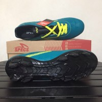 Sepatu Bola Specs Quark FG Tosca Solar Slime