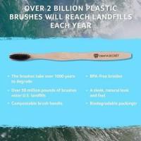Denta secret bamboo charcoal Toothbrush