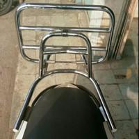 Aksesoris Scoopy Backrack Sandaran Belakang Back rack scoopy 2017 new