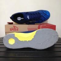 SALE Sepatu Futsal Specs Metasala Knight Galaxy Blue Yellow 400731