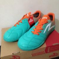 Sale Sepatu Futsal Specs Equinox IN Comfrey Green Orange 400712