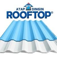 Atap uPVC Rooftop (Warna Putih dan Biru) - Putih