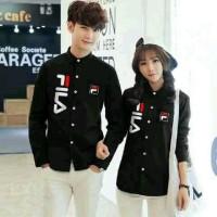 Kemeja Couple FILA / Baju Pasangan / Baju Kapel