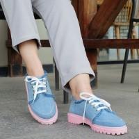 Sepatu Docmart Jeans Blue