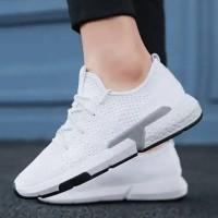 Adidas POD System X Fashion Import / White Sepatu Pria Sekolah Running
