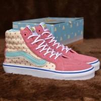 Sepatu Vans Sk8 Hi Toy Story Pink PK Quality Limited Edition Vans Cewe