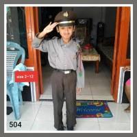 Baju Kostum Karnaval Profesi polisi Anak(size 2-5)