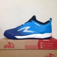 Sepatu Futsal Specs Metasala Musketeer Galaxy Rock Blue 400739 Origi