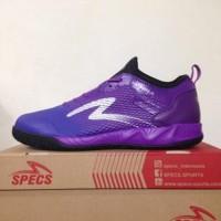 Sepatu Futsal Specs Metasala Musketeer Deep Purple Black 400738 Orig