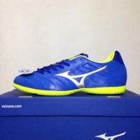 Sepatu Futsal Mizuno Rebula V3 IN Strong Blue P1GF188509 Original BN
