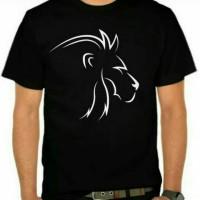Atasan pria t-shirt kaos oblong Singapura M L XL XXL keren murah