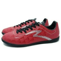Sepatu Futsal Specs Quark IN (chestnut Red/Black/Silver Diskon