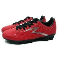 Sepatu Bola Specs Quark FG (Chestnut Red/Black/Silver) Diskon