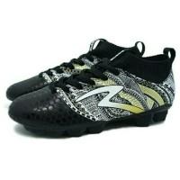 Sepatu Bola Specs Heritage FG (Black/Gold/White) Limited
