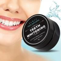 pemutih gigi charcoal activated carbon / arang pemutih gigi