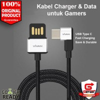 Kabel Data Charger USB Type C Fast Charge Gamer Cable BWC100