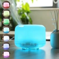 Humidifier Aroma Terapi Therapy Air + RGB LED Lampu Tidur Remote Timer