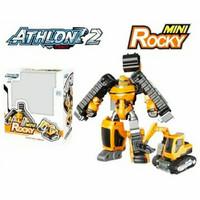 Deanz Collection Tobot Athlon 2 Mini Rocky Transform RoboEkscavator