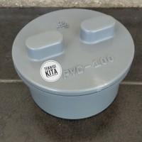 Tutup Paralon Septi Tank 4 inch Bak Kontrol PVC Clean Out