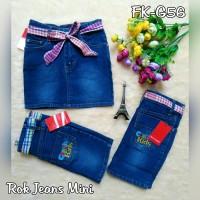 Rok mini jeans anak - rok jeans anak - FKG56
