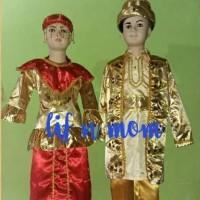 baju adat pengantin betawi anak cewe atau cowo