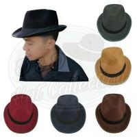 Topi Fedora aneka warna dewasa