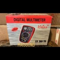 Multitester Digital Avometer Multimeter HELES UX369TR UX 369 TR