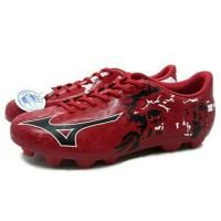 Sepatu Bola Mizuno Ryuou MD (Chinese Red/Black/White) Diskon