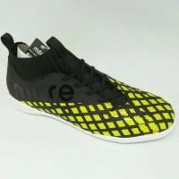 Sepatu Futsal Mitre Invader IN (Black City Green) Limited