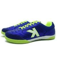 Sepatu Futsal Kelme Land Precision (Royal Blue/Lime) Berkualitas