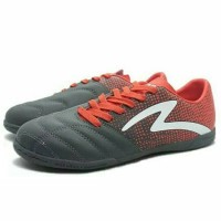 Sepatu Futsal Specs Equinox IN Dark Granite/Signal Red Limited