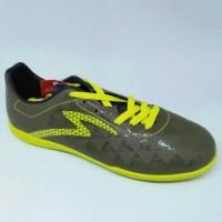 Sepatu Futsal Specs Quark IN Evil Olive/Zest Green Limited