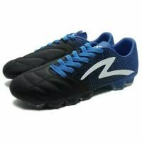 Sepatu Bola Specs Equinox FG (Black/Tulip Blue/White) Limited