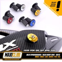 Variasi NMAX PCX AEROX jalu bandul baut body sparkboard knalpot stang