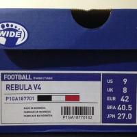 Sale Sepatu Bola Mizuno Rebula V4 Black Tango Red P1GA187701 Original