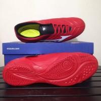 Sale Sepatu Futsal Mizuno Rebula 2 V3 IN High Red White P1GF187562
