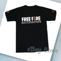KAOS FREE FIRE BATTLEGROUNDS T SHIRT GAME ARENA