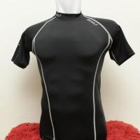 2XU Men Shirt Compression Short Sleeve - Black