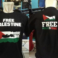 Kaos / Tshirt / Baju Oblong Free Palestin S - XXL