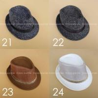 Topi Fedora / Topi Pantai / Topi Fashion Murah