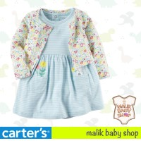 Carters 2in1 baju baby cewe / dress carter baju bayi perempuan