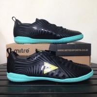 Sepatu Futsal Mitre Optimize IN Black Yellow Lite T