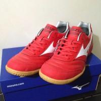 Sepatu Futsal Mizuno Morelia IN High Risk Red QGA