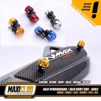 variasi NMAX PCX AEROX XMAX jalu bandul baut stang body sparkboard cnc
