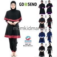 Baju Renang Dewasa Muslimah Premium Edora EMP 002 M, L dan XL - Baju Renang, M